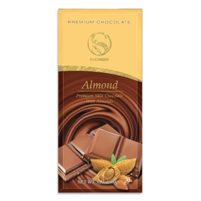 Milk Chocolate Confection w/ Almonds