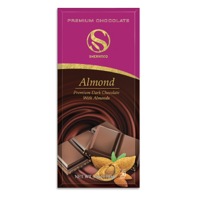 Dark Chocolate Confection w/ Almonds