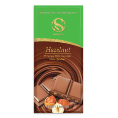 Milk Chocolate Confection w/ Hazelnut